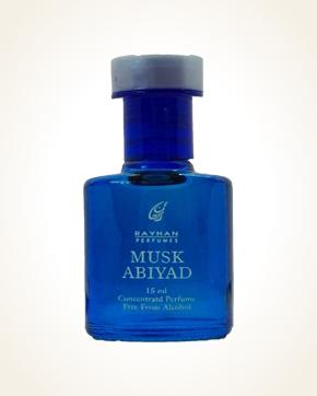 Rayhan Perfumes Musk Abiyad parfémový olej 15 ml