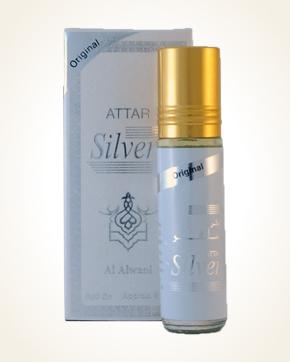 Al Alwani Attar Silver parfémový olej 8 ml