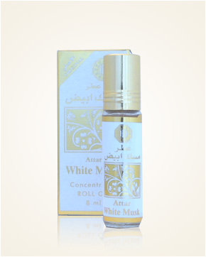 Surrati Attar White Musk Concentrated Perfume Oil 8 ml