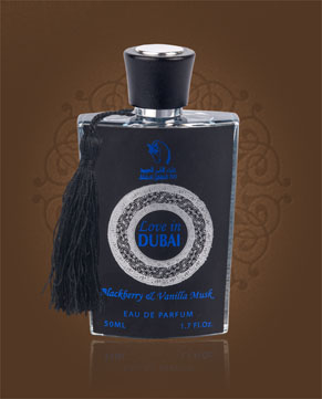 Royal Diwan Love in Dubai Blackberry & Vanilla Musk parfémová voda 50 ml