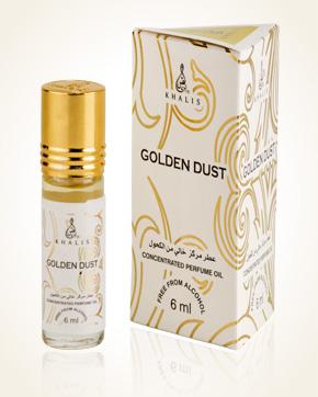 Khalis Golden Dust parfémový olej 6 ml