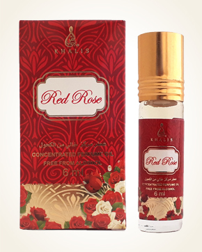 Khalis Red Rose Concentrated Perfume Oil 6 ml