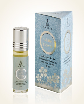 Khalis White Flower Concentrated Perfume Oil 6 ml