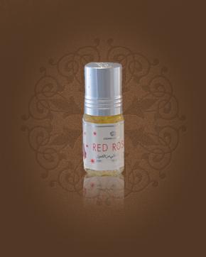 Al Rehab Red Rose parfémový olej 3 ml