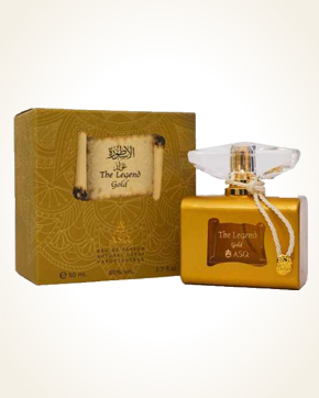 Abdul Samad Al Qurashi The Legend Gold parfémová voda 50 ml