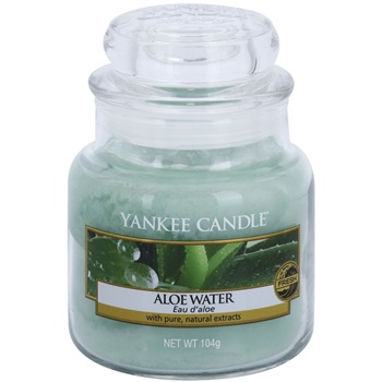 Yankee Candle Aloe Water Scented Candle 104 g Classic Mini