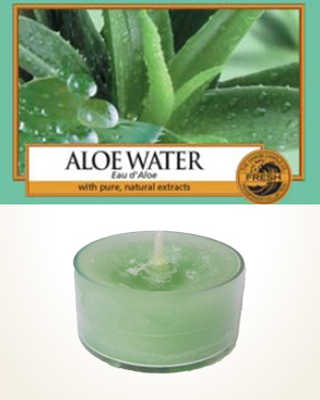 Yankee Candle Aloe Water Tealight Candle sample 1 pcs