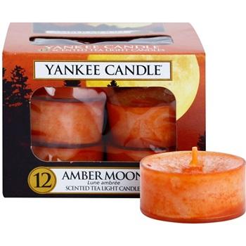 Yankee Candle Amber Moon čajová svíčka 12 x 9,8 g