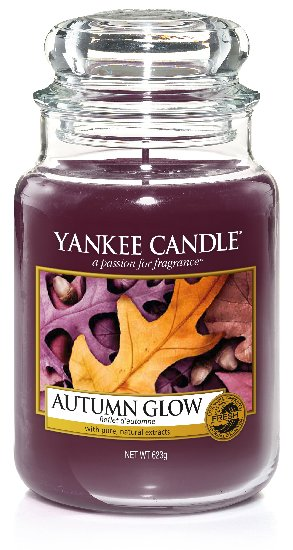 Yankee Candle Autumn Glow Scented Candle 623 g Classic Large
