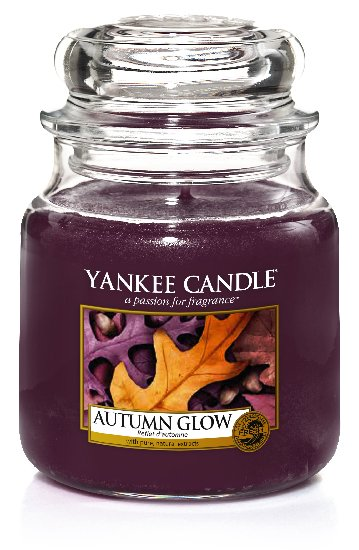 Yankee Candle Autumn Glow Scented Candle 411 g Classic Medium