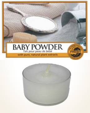 Yankee Candle Baby Powder Tealight Candle sample 1 pcs