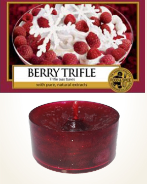 Yankee Candle Berry Trifle Tealight Candle sample 1 pcs