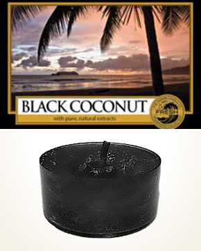 Yankee Candle Black Coconut Tealight Candle sample 1 pcs