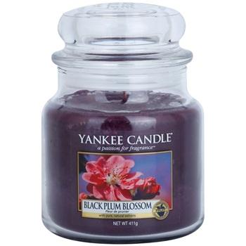 Yankee Candle Black Plum Blossom świeczka zapachowa 411 g Classic średnia