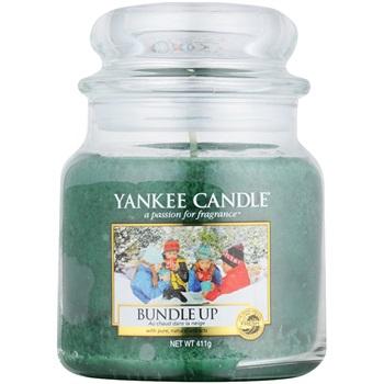 Yankee Candle Bundle Up vonná svíčka 411 g Classic střední