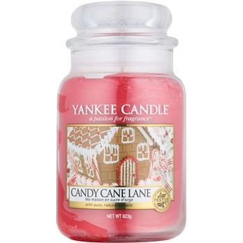 Yankee Candle Candy Cane Lane vonná svíčka 623 g Classic velká