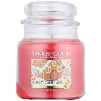 Yankee Candle Candy Cane Lane vonná svíčka 411 g Classic střední