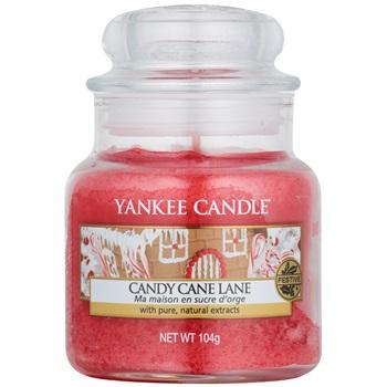 Yankee Candle Candy Cane Lane vonná svíčka 104 g Classic malá