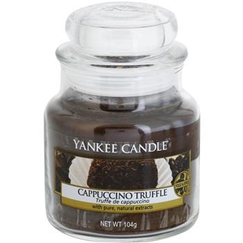 Yankee Candle Cappuccino Truffle vonná svíčka 104 g Classic malá