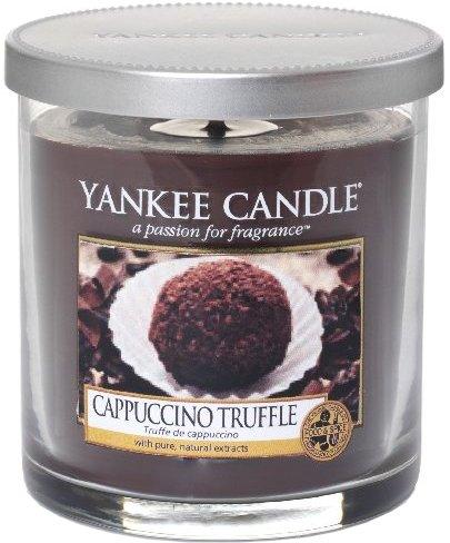 Yankee Candle Cappuccino Truffle vonná svíčka 198 g Décor malá