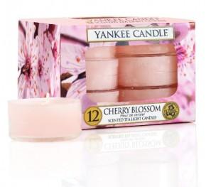 Yankee Candle Cherry Blossom čajová svíčka 12 x 9,8 g
