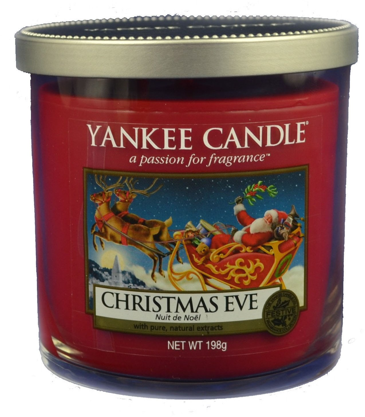 Yankee Candle Christmas Eve Scented Candle 198 g Décor Mini