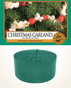 Yankee Candle Christmas Garland Tealight Candle sample 1 pcs