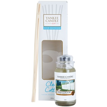 Yankee Candle Clean Cotton aroma difuzér s náplní 240 ml Classic