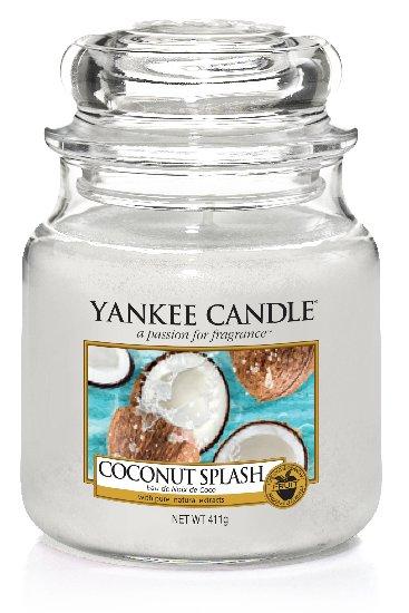 Yankee Candle Coconut Splash vonná svíčka 411 g Classic střední