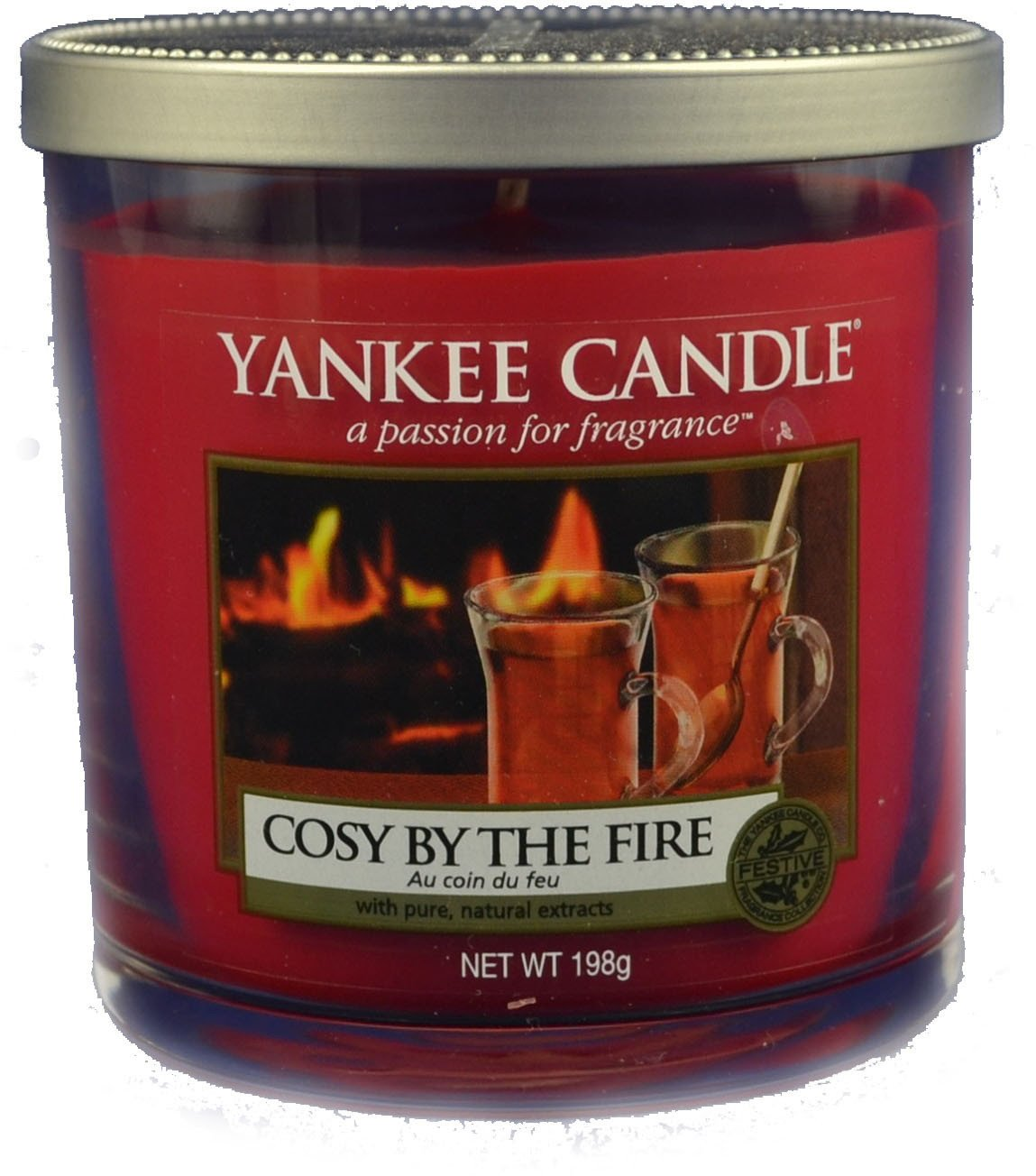 Yankee Candle Cosy By The Fire vonná svíčka 198 g Décor malá