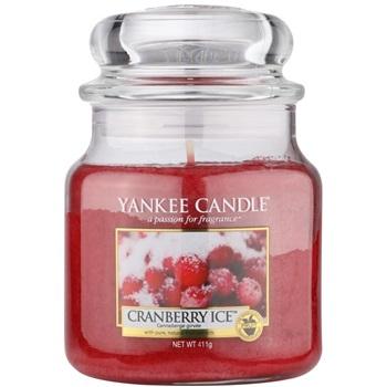 Yankee Candle Cranberry Ice vonná svíčka 411 g Classic střední