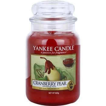 Yankee Candle Cranberry Pear vonná svíčka 623 g Classic velká