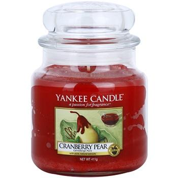 Yankee Candle Cranberry Pear vonná svíčka 411 g Classic střední