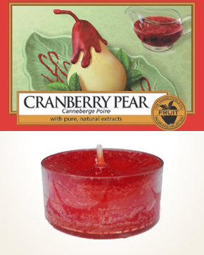 Yankee Candle Cranberry Pear Tealight Candle sample 1 pcs