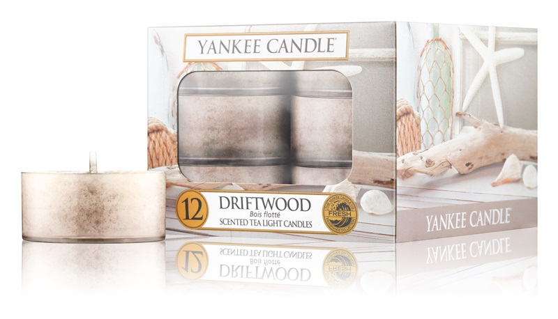 Yankee Candle Driftwood Tealight Candle 12 x 9,8 g