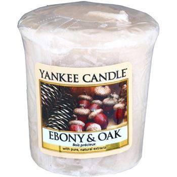 Yankee Candle Ebony & Oak votivní svíčka 49 g