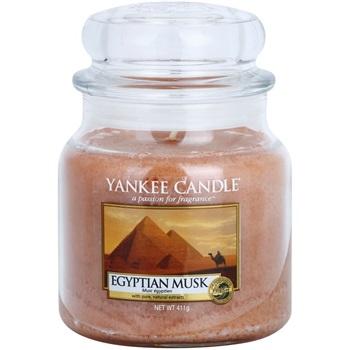 Yankee Candle Egyptian Musk vonná svíčka 411 g Classic střední