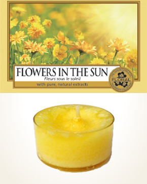 Yankee Candle Flowers In The Sun Tealight Candle sample 1 pcs
