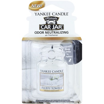 Yankee Candle Fluffy Towels vůně do auta závěsná