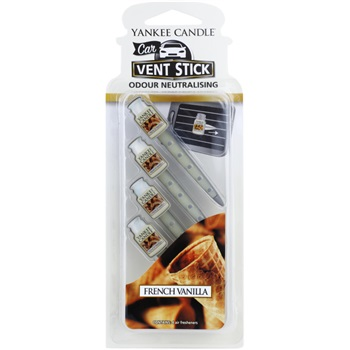 Yankee Candle French Vanilla Car Air Freshener 4 pc