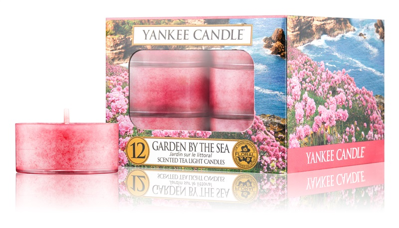 Yankee Candle Garden by the Sea čajová svíčka 12 x 9,8 g