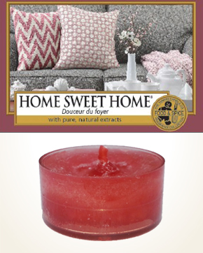 Yankee Candle Home Sweet Home Tealight Candle sample 1 pcs