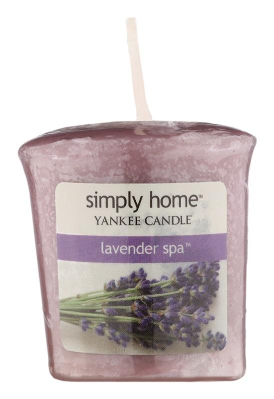 Yankee Candle Lavender Spa votivní svíčka 49 g