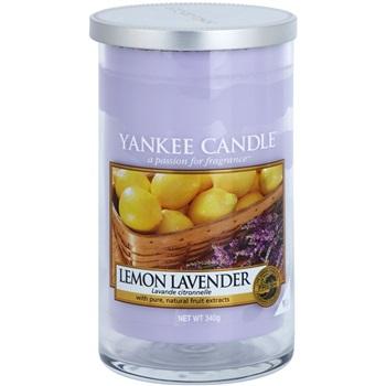 Yankee Candle Lemon Lavender vonná svíčka 340 g Décor střední