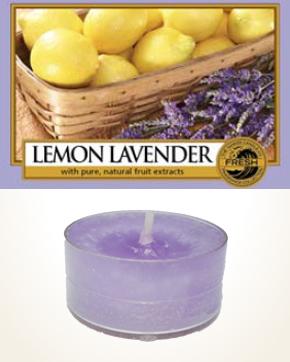 Yankee Candle Lemon Lavender čajová svíčka vzorek 1 ks
