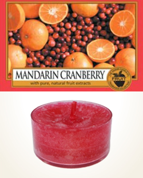 Yankee Candle Mandarin Cranberry Tealight Candle sample 1 pcs