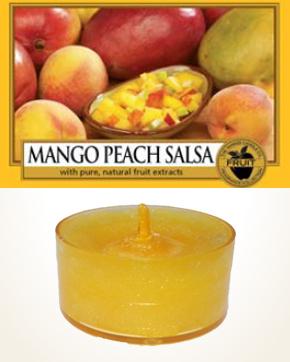Yankee Candle Mango Peach Salsa čajová svíčka vzorek 1 ks