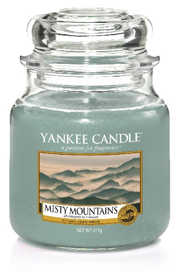 Yankee Candle Misty Mountains Scented Candle 411 g Classic Medium