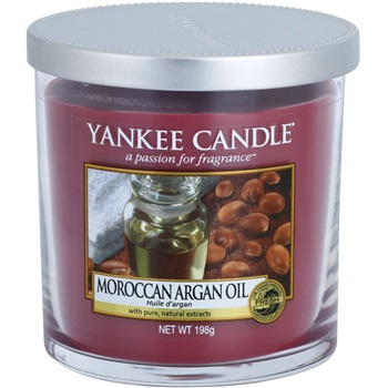 Yankee Candle Moroccan Argan Oil vonná svíčka 198 g Décor malá