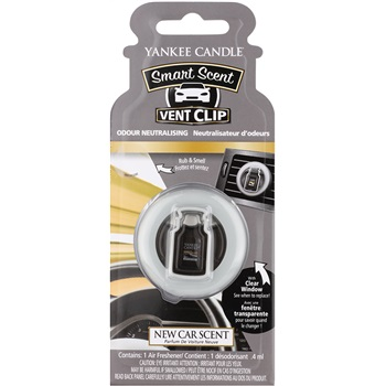 Yankee Candle New Car Scent Vůně do auta 4 ml clip